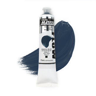 Matisse Flow Acrylic 75ml S2 - Mineral Blue Antique