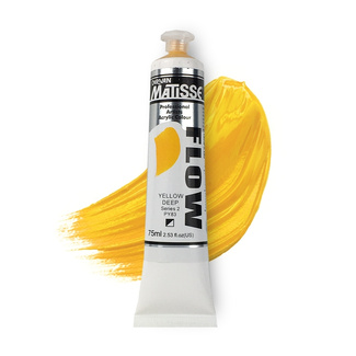 Matisse Flow Acrylic 75ml S2 - Yellow Deep