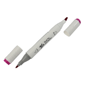 Mont Marte Dual Tip Alcohol Art Marker - Vivid Reddish Purple 86