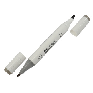 Mont Marte Dual Tip Alcohol Art Marker - Warm Grey 3 WG3