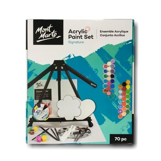 Mont Marte Signature Paint Set - Acrylic Painting Set 70pc