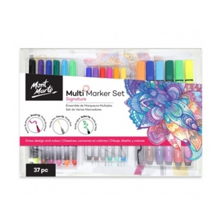 Mont Marte Signature Marker Set - Multi Marker Set 37pc