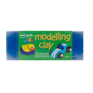 Mont Marte Kids - Modelling Clay 475g - Blue