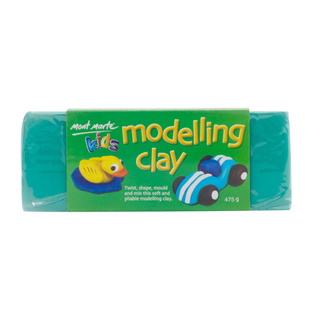 Mont Marte Kids Modelling Clay Green
