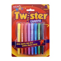 Mont Marte Kids - Twister Crayons 8pc
