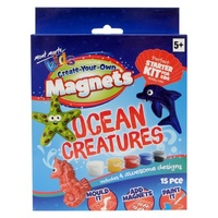 Mont Marte Create Your Own Magnets - Ocean Creatures