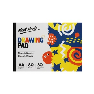 Mont Marte Kids - Drawing Pad White Paper A4 80gsm 30 Sheet