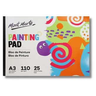 Mont Marte Kids - Painting Pad A3 110gsm 25 Sheet