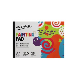 Mont Marte Kids - Painting Pad A4 110gsm 25 Sheet