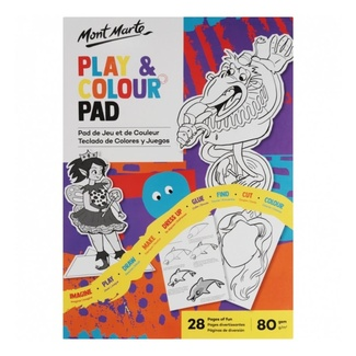 Mont Marte Kids - Play & Colour Pad A4