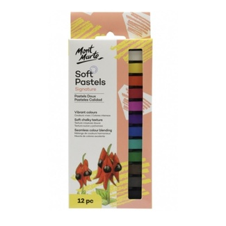 Mont Marte Soft Pastels - Colour 12pc