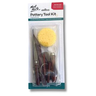 Mont Marte Sculpting - Pottery Tool Kit 10pc
