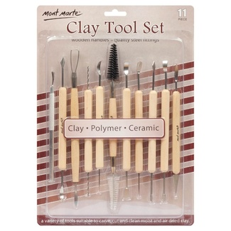 Mont Marte Sculpting - Clay Tool Set 11pc