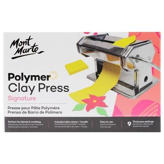 Mont Marte Sculpting - Polymer Clay Press - Rolling / Conditioning Machine