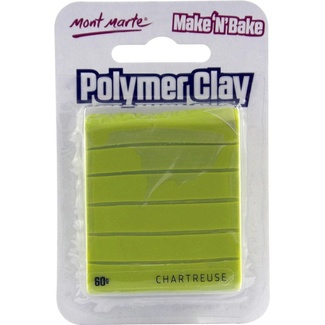 *Mont Marte Make N Bake Polymer Clay 60g - Chartreuse Green
