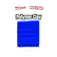 Mont Marte Make N Bake Polymer Clay 60g - Cornflower Blue