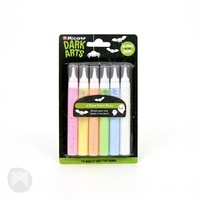Micador Glow Paint Pens - 15ml pack 6