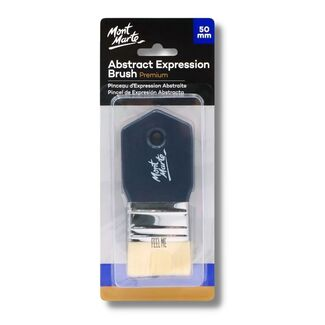 Mont Marte Taklon Abstract Expression Paint Brush - 50mm
