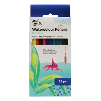 Mont Marte Watercolour Pencils 12pce in box