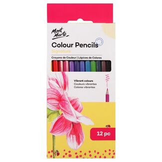 Mont Marte Colour Pencils - Essentials 12pc