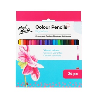 Mont Marte Colour Pencils - Essentials 24pc