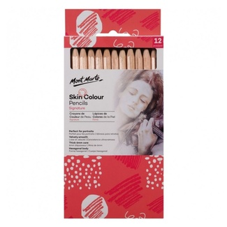 Mont Marte Colour Pencils - Skin Tones 12pc