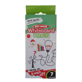 Mont Marte Wet-Erase Whiteboard Pencils 7pc