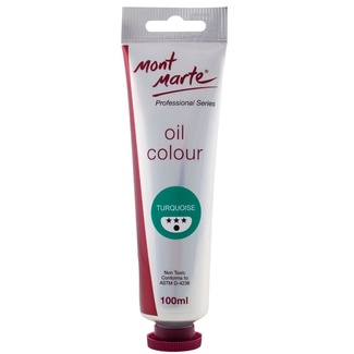*Mont Marte Oil Paint 100ml Tube - Turquoise