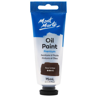 Mont Marte Oil Paint 75ml Tube - Raw Umber