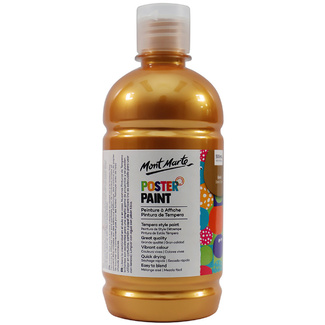 Mont Marte Kids - Poster Paint 500ml - Gold