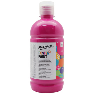 Mont Marte Kids - Poster Paint 500ml - Pink