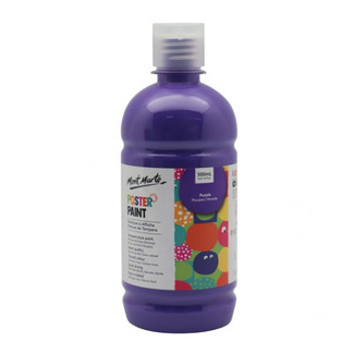 Mont Marte Kids - Poster Paint 500ml - Purple
