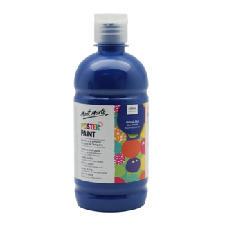 Mont Marte Kids - Poster Paint 500ml - Phthalo Blue