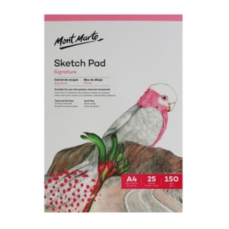 Mont Marte Sketch Pad White Paper A4 150gsm 25 Sheet
