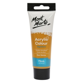 Mont Marte Studio Acrylic 75ml Tube - Raw Sienna