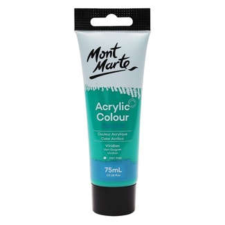 Mont Marte Signature Acrylic Paint 75ml Tube - Viridian