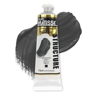 Matisse Structure Acrylic 75ml S2 - Graphite Grey