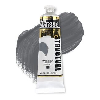 Matisse Structure Acrylic 75ml S1 - Mars Grey