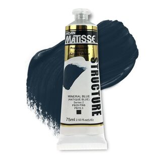 Matisse Structure Acrylic 75ml S2 - Mineral Blue Antique