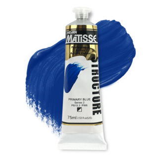 Matisse Structure Acrylic 75ml S2 - Primary Blue
