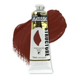Matisse Structure Acrylic 75ml S2 - Venetian Red