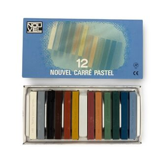 Sakura Nouvel Carre Pastel Set 12pc - Basic
