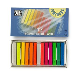 Sakura Nouvel Carre Pastel Set 12pc - Luminous