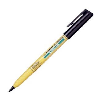 Pentel Green Label Textile Marker 1mm - Black