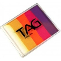 TAG Body Art & Face Paint Split Cake 50g - Sunset