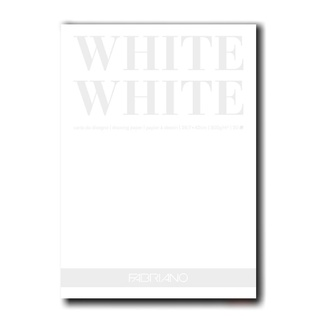 Fabriano WHITE White Paper Pad A3 300gsm 20 Sheets