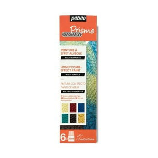 Pebeo Discovery Set - Prisme Fantasy Effects Paint 6 x 20ml