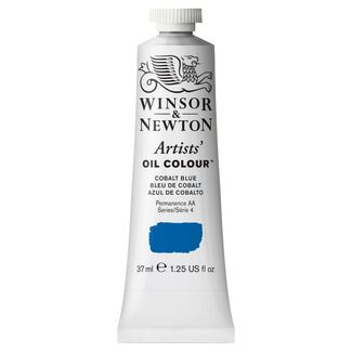 Winsor & Newton Artists' Oil Colour 37ml S4 - Cobalt Blue