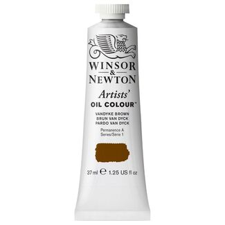 Winsor & Newton Artists' Oil Colour 37ml S1 - Vandyke Brown