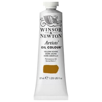 Winsor & Newton Artists' Oil Colour 37ml S1 - Yellow Ochre